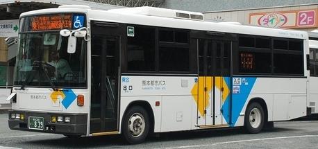 熊本市交通局・熊本都市バスの富士8E架装車_e0030537_23053093.jpg