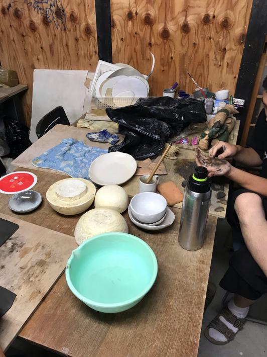創作ヴィレッジこるり村へ:「障害のある人と芸術活動を楽しむためにー活動体験」_a0034066_07353666.jpg