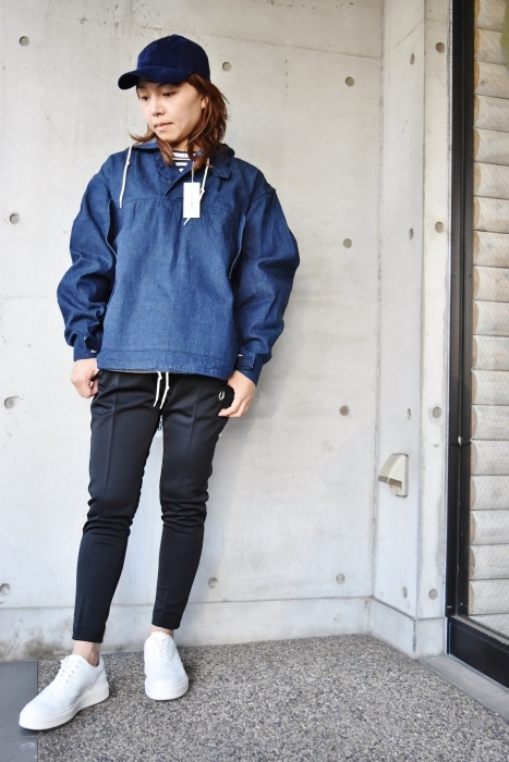 H.  UNIT   DENIM PARKA JACKET   続編★_d0152280_06321670.jpg