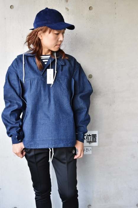 H.  UNIT   DENIM PARKA JACKET   続編★_d0152280_06323139.jpg