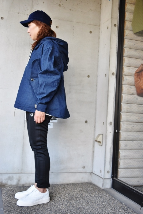 H.  UNIT   DENIM PARKA JACKET   続編★_d0152280_06325946.jpg