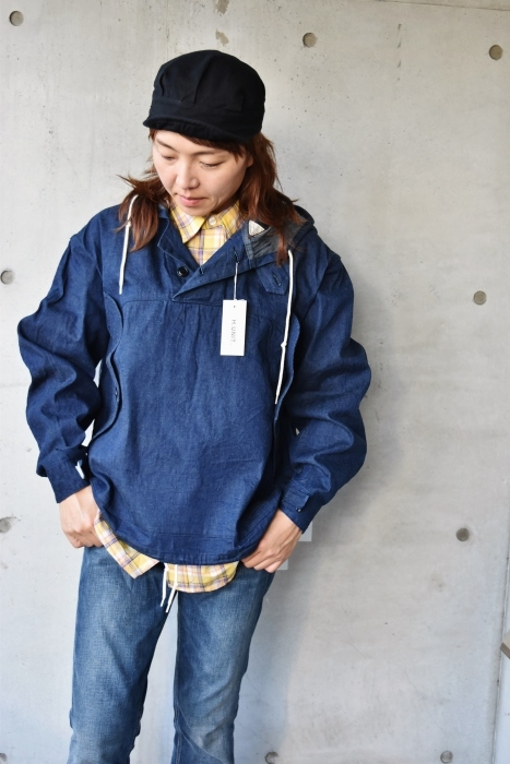 H.  UNIT   DENIM PARKA JACKET   続編★_d0152280_06353806.jpg
