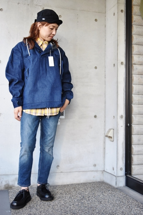 H.  UNIT   DENIM PARKA JACKET   続編★_d0152280_06355638.jpg