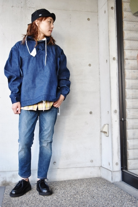 H.  UNIT   DENIM PARKA JACKET   続編★_d0152280_06361048.jpg