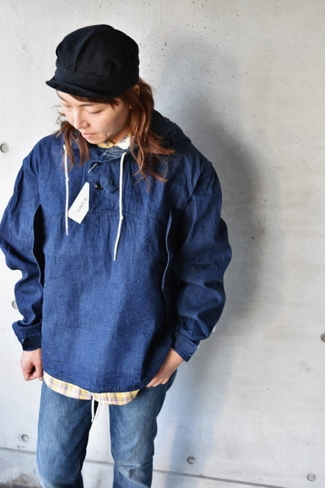 H.  UNIT   DENIM PARKA JACKET   続編★_d0152280_06362455.jpg