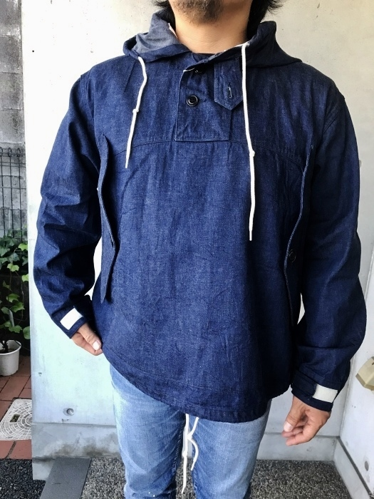H.  UNIT   DENIM PARKA JACKET   続編★_d0152280_06403282.jpg