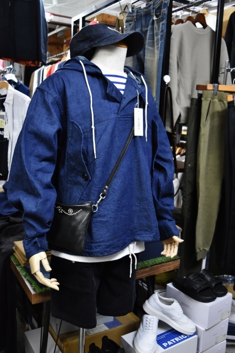 H.  UNIT   DENIM PARKA JACKET   続編★_d0152280_06412768.jpg