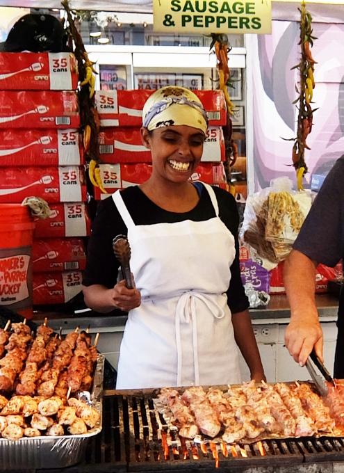サン・ジェナーロ(San Gennaro)祭の食べ物や屋台の様子 _b0007805_03492337.jpg