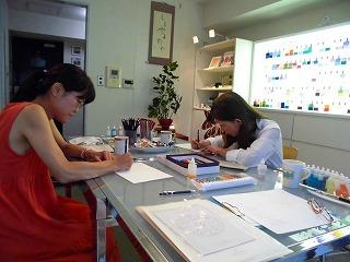 マンダラぬりえでカラーセラピー 東京&名古屋_c0200917_03062615.jpg