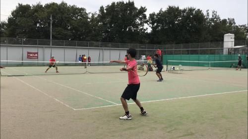 練習試合 VS東京農工大学 - 東京電機大学理工学部硬式庭球部