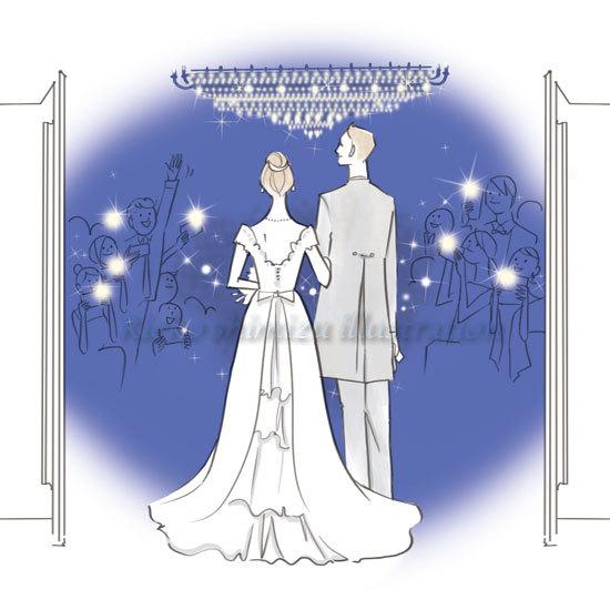結婚情報誌「こまちWedding」イラスト_f0227738_12120594.jpg