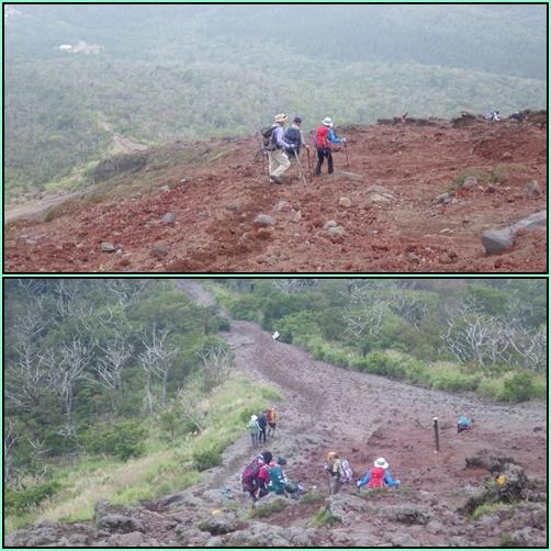 天孫降臨コースから高千穂峰周回コースを歩く_e0164643_16503939.jpg