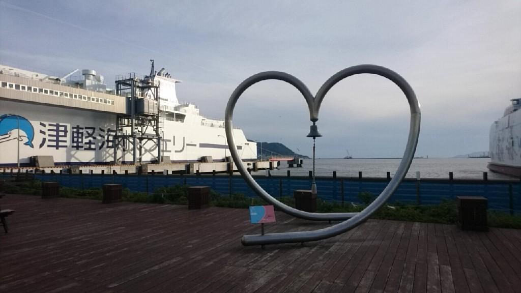現在の津軽海峡フェリーターミナル_b0106766_16493990.jpg