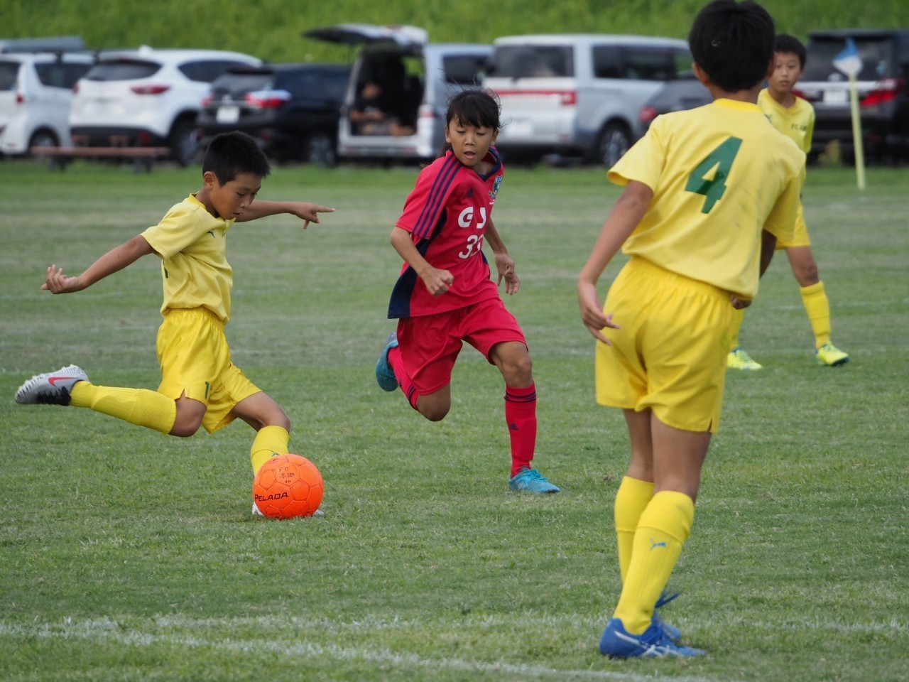 5年生 練習試合 対FC本郷U12_a0109316_08224784.jpg