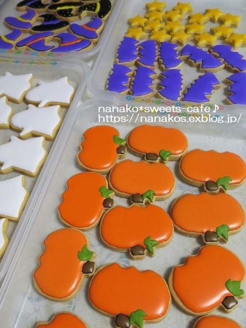 ハロウィンクッキー準備中_d0147030_23214913.jpg