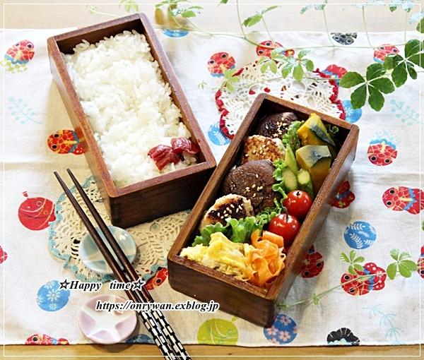 シイタケつくね弁当と今週の作りおき♪_f0348032_16295059.jpg