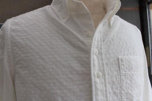 シンプルに見えて…実は・・・なホワイトシャツ 新作できました♪_d0108933_14553704.jpg