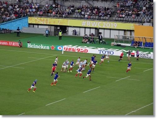 ラグビーワールドカップ フランスVSアルゼンチンを観戦_d0013068_17142962.jpg