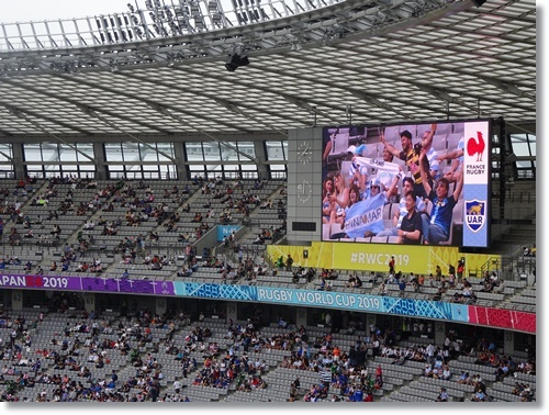 ラグビーワールドカップ フランスVSアルゼンチンを観戦_d0013068_17161816.jpg
