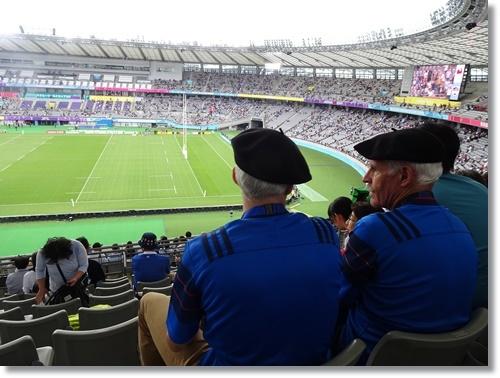 ラグビーワールドカップ フランスVSアルゼンチンを観戦_d0013068_17182604.jpg