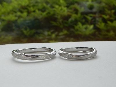 結婚指輪 セミオーダー | 岡山_d0237570_11593716.jpg