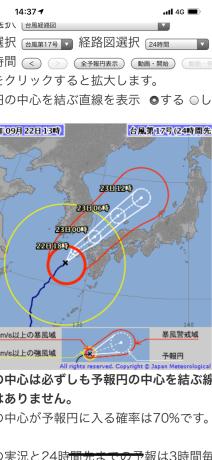 台風は好かん‼️_a0077071_14374225.jpg