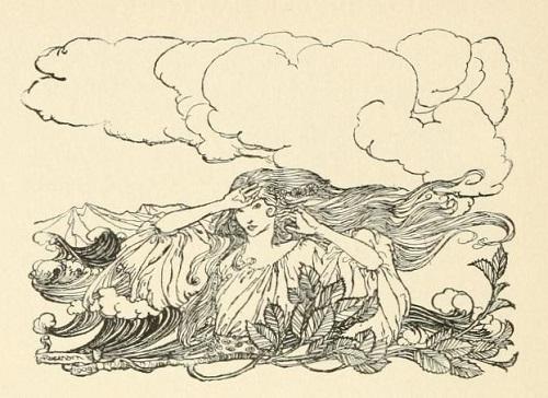 アーサー・ラッカム画のウンディーネからペン画を_c0084183_16082383.jpg