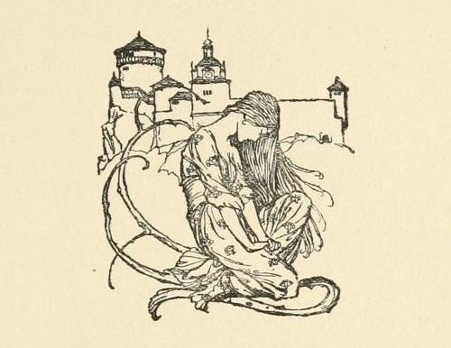 アーサー・ラッカム画のウンディーネからペン画を_c0084183_16091349.jpg