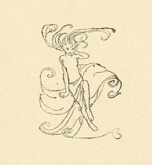 アーサー・ラッカム画のウンディーネからペン画を_c0084183_16092100.jpg