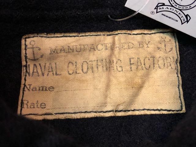 9月25日(水)マグネッツ大阪店 冬物ヴィンテージ入荷!!#1 U.S.Navy編!! 55J14 TYPE G-1 & AN-J-3、CPO Shirt OnePkt、DeckPants!!_c0078587_19561880.jpg