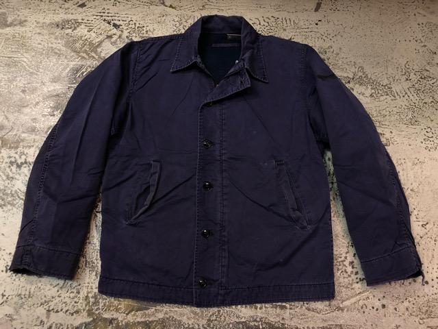 9月25日(水)マグネッツ大阪店 冬物ヴィンテージ入荷!!#1 U.S.Navy編!! 55J14 TYPE G-1 & AN-J-3、CPO Shirt OnePkt、DeckPants!!_c0078587_20302884.jpg
