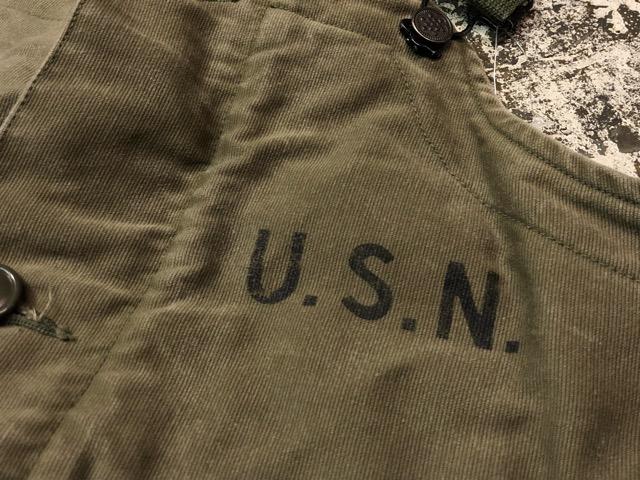 9月25日(水)マグネッツ大阪店 冬物ヴィンテージ入荷!!#1 U.S.Navy編!! 55J14 TYPE G-1 & AN-J-3、CPO Shirt OnePkt、DeckPants!!_c0078587_20342779.jpg