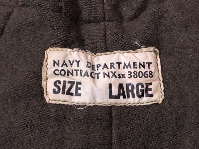 9月25日(水)マグネッツ大阪店 冬物ヴィンテージ入荷!!#1 U.S.Navy編!! 55J14 TYPE G-1 & AN-J-3、CPO Shirt OnePkt、DeckPants!!_c0078587_20345764.jpg