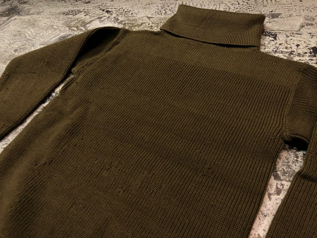 9月25日(水)マグネッツ大阪店 冬物ヴィンテージ入荷!!#2 USMC&US.Army編!JerkinVest&~10\'s BuckleBackWoolTrouser,Turtle Sweater!_c0078587_21574647.jpg