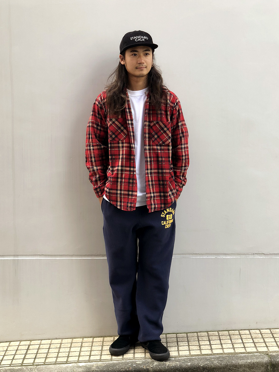 【DELIVERY】 STANDARD CALIFORNIA - Champion×SD Reverse Weave Sweat Pants_a0076701_13271790.jpg