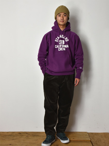 【DELIVERY】 STANDARD CALIFORNIA - Champion×SD Reverse Weave Hood Sweat_a0076701_14085807.jpg