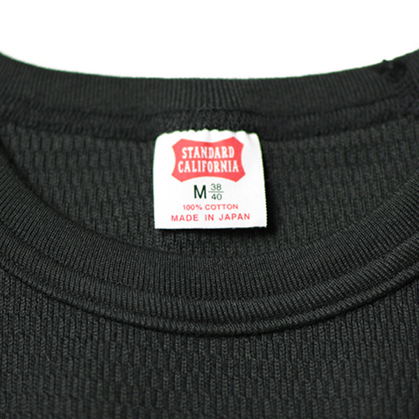 【DELIVERY】 STANDARD CALIFORNIA - Heavyweight Honeycomb Thermal Long Sleeve_a0076701_14214674.jpg