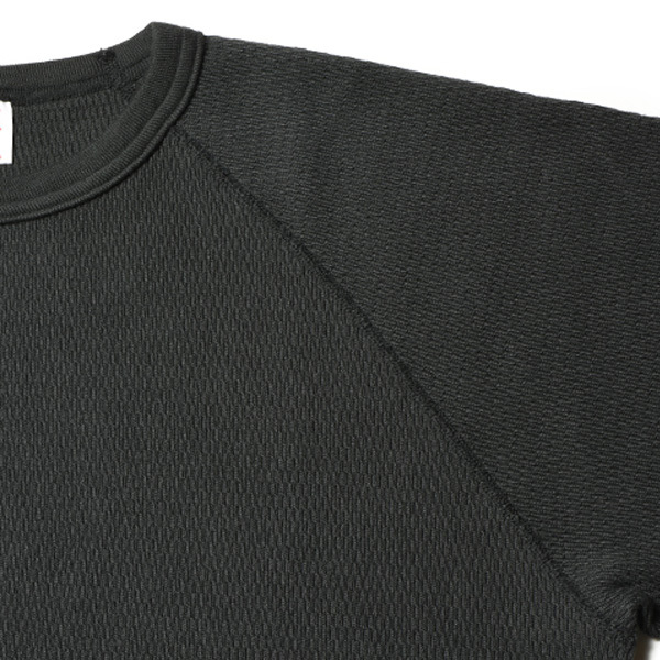 【DELIVERY】 STANDARD CALIFORNIA - Heavyweight Honeycomb Thermal Long Sleeve_a0076701_14220012.jpg