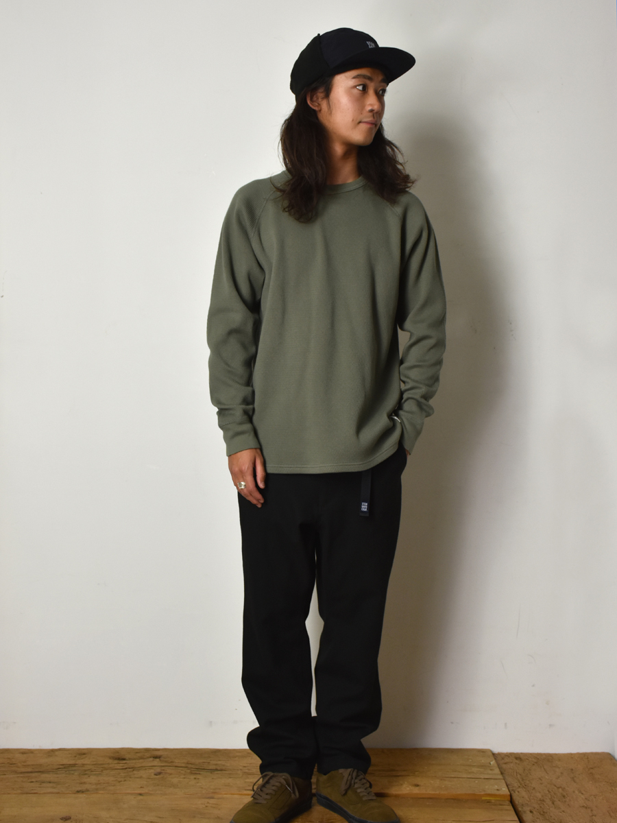 【DELIVERY】 STANDARD CALIFORNIA - Heavyweight Honeycomb Thermal Long Sleeve_a0076701_14222420.jpg