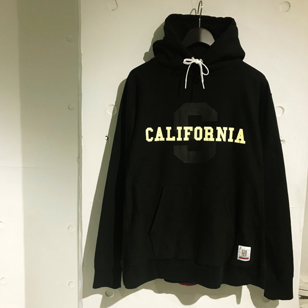 【DELIVERY】 STANDARD CALIFORNIA - US Cotton Heavyweight Hood Sweat ~STEADY AND SHAFT Limited~_a0076701_14424942.jpg