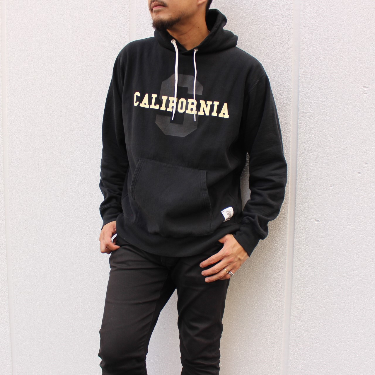 【DELIVERY】 STANDARD CALIFORNIA - US Cotton Heavyweight Hood Sweat ~STEADY AND SHAFT Limited~_a0076701_14464148.jpg