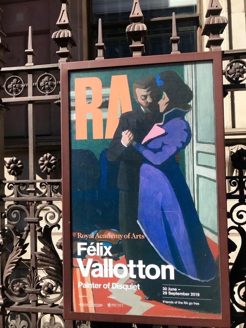 とにかく「気になる」アーティスト、フェリックス・ヴァロットン展@ロイヤル・アカデミー・オブ・アーツ_e0114020_06343727.jpg