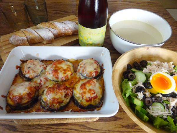 休日はのんびり料理とワイン_f0097523_17220065.jpg