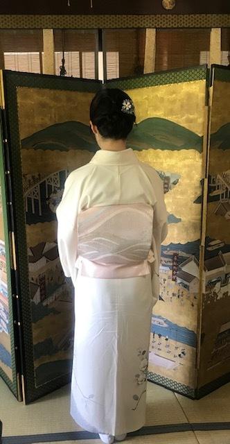 ランチ会・現在織り手さんが一人だけの西陣まいづる楽紋紗。_f0181251_13240273.jpg