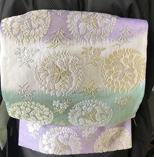 ランチ会・現在織り手さんが一人だけの西陣まいづる楽紋紗。_f0181251_15431083.jpg