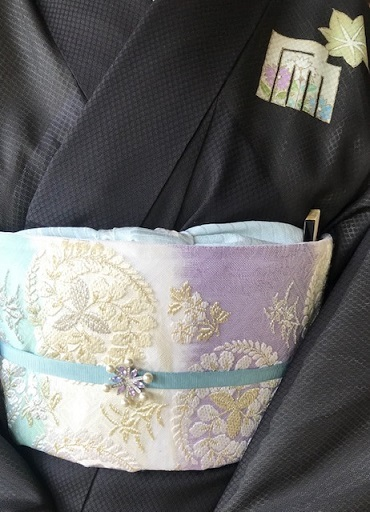 ランチ会・現在織り手さんが一人だけの西陣まいづる楽紋紗。_f0181251_15481154.jpg