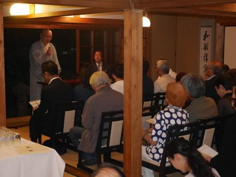 浄智寺で第十四回鎌倉芸術祭オープニングレセプション9・20_c0014967_10464133.jpg