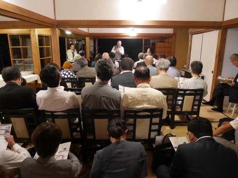 浄智寺で第十四回鎌倉芸術祭オープニングレセプション9・20_c0014967_10470666.jpg