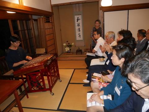 浄智寺で第十四回鎌倉芸術祭オープニングレセプション9・20_c0014967_10472255.jpg