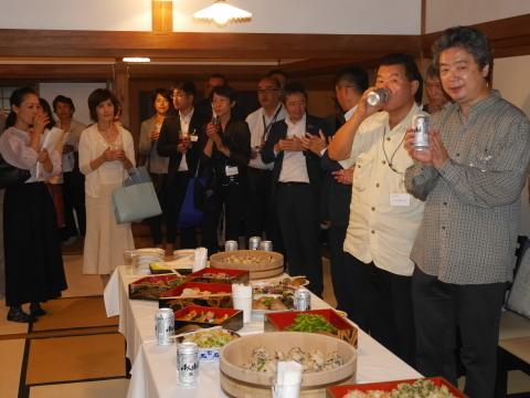 浄智寺で第十四回鎌倉芸術祭オープニングレセプション9・20_c0014967_10482419.jpg